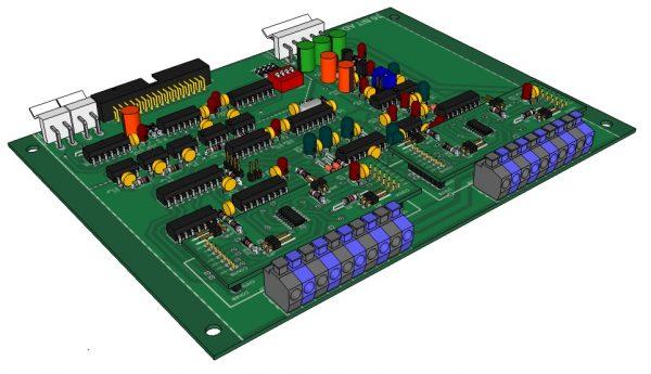 Tarjeta de entrada analogica1010521-CC-R04 V4.1