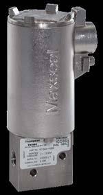 VALVULA SOLENOIDE MAXSEAL 3/2 SS316 24VDC