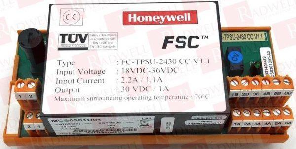 Tarjeta de control FC-TPSU-2430 V2.0 marca Honeywell